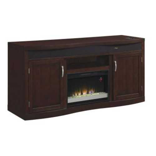 Classic Flame Endzone 73 in. Media Console Electric Fireplace in Espresso