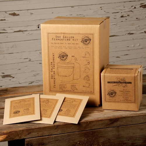 Do-It-Yourself 1-Gallon Deluxe Wine Kit