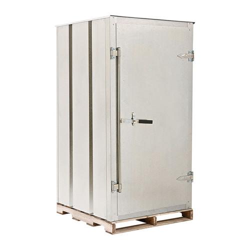 West Galvanized Steel Storage Container  80 Cu. Ft., Model# Skid78