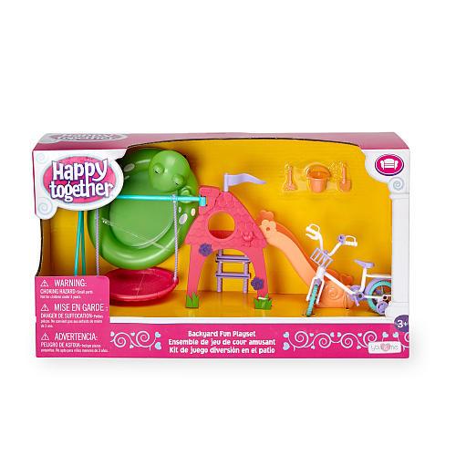 You & Me Happy Together Doll Backyard Fun Playset