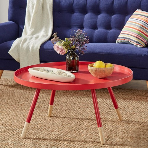 HomeSullivan Hanna Red Coffee Table