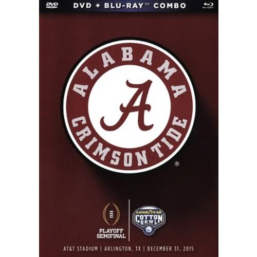 2016 Goodyear Cotton Bowl Game - Alabama vs. Michigan State DVD and Blu-ray Combo
