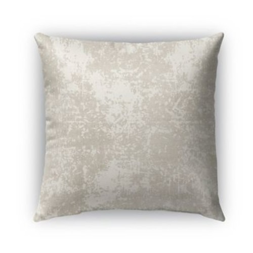 Kavka Ravenna Burlap Indoor/Outdoor Throw Pillow; 18'' H x 18'' W x 5'' D