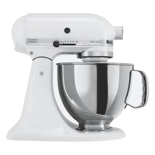KitchenAid Artisan Series 10-Speed Tilt-Head Stand Mixer, White
