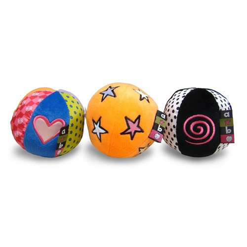 Amazing Baby Sound Balls 3 ct Box