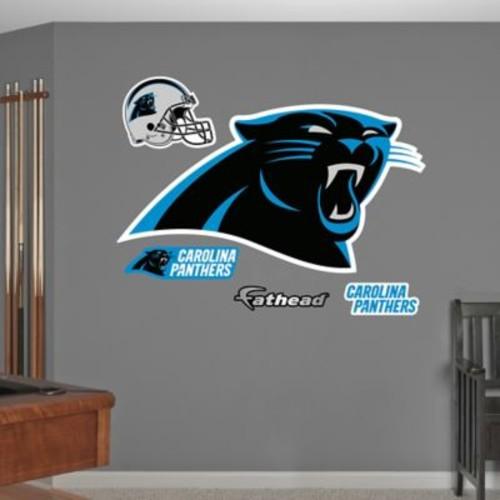 Fathead NFL Carolina Panthers Logo Wall Graphic