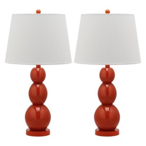 Three Sphere Glass Table Lamp Set - Safavieh