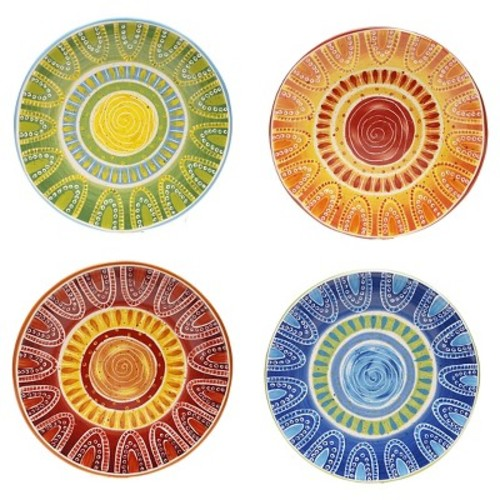 Certified International Tapas Dinner Plate Set of 4 (11.25