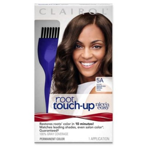 Clairol Nicen Easy Root Touch-Up Permanent Hair Color in 5A Medium Ash Brown