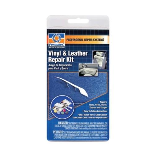 Permatex Vinyl Repair 7 Color Kit For Automobile Motorcycle Marine(80902)