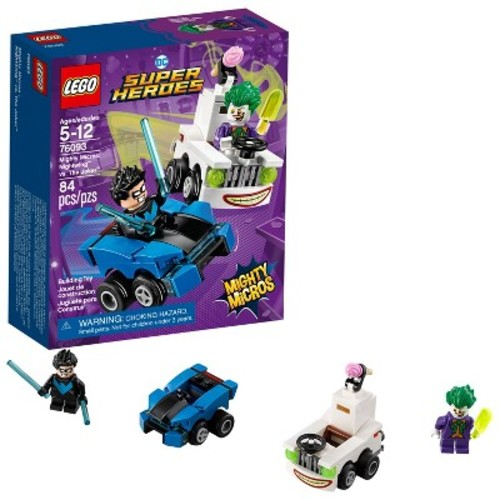 LEGO Super Heroes DC Comics Mighty Micros: Nightwing vs. The Joker 76093