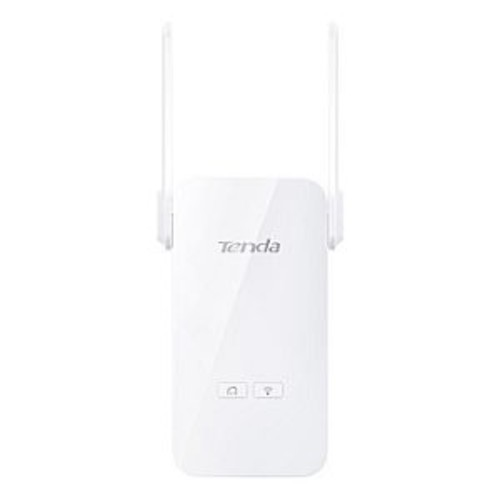 Tenda Technology AV1000 2-Port Gigabit Wi-Fi Powerline Extender - 1 * Powerline LED, 1 * Wi-Fi LED, Wireless 2.4 ~ 2.4835GHz Frequency - PA6