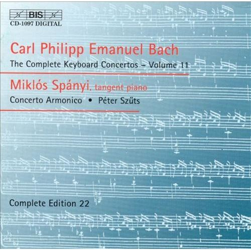 C.P.E. Bach: The Complete Keyboard Concertos, Vol. 11 [CD]