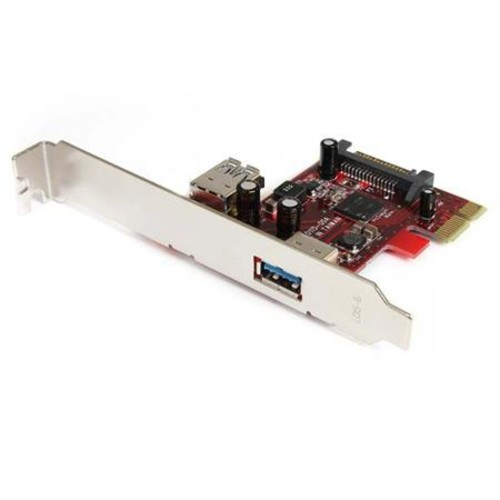 StarTech 2 Port PCI Express SuperSpeed USB 3.0 Card with UASP Support PEXUSB3S11