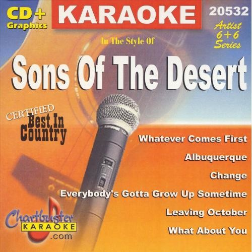 Karaoke: Sons Of The Desert - CD