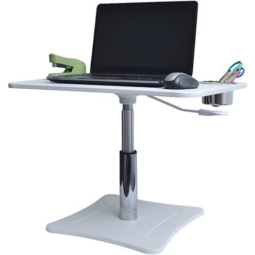 Victor Technology Height Adjustable Laptop Stand w/ Cup Holder, White or Black