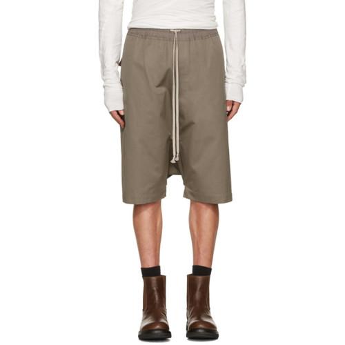 RICK OWENS Grey Rick'S Pods Shorts