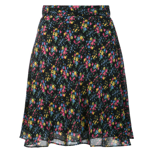 SAINT LAURENT Prairie Floral Print Skirt