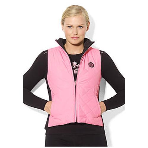 Lauren Ralph Lauren Plus Size Reversible Quilted Vest