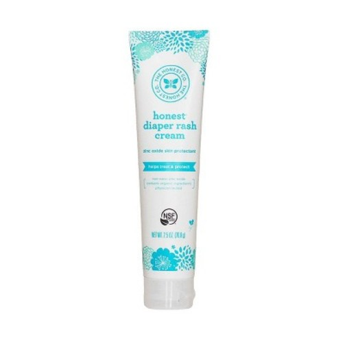 Honest Diaper Rash Cream, 2.5 Fluid Ounce [1]