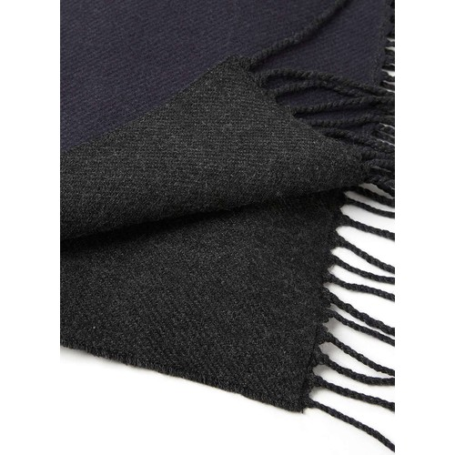 Navy and Black Woven Scarf