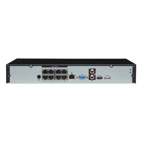 Lorex 8-Channel 4K UHD NVR with 2TB HDD and 8x Bullet IP Cameras