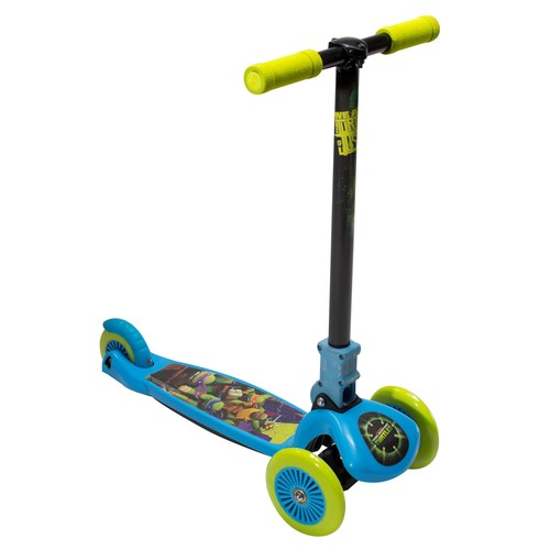 Teenage Mutant Ninja Turtles 3 Wheel Leaning Scooter