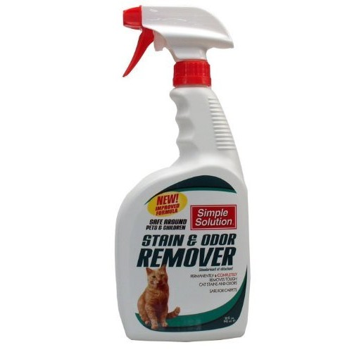 SIMPLE SOLUTION CAT Stain and Odor Remover (32 oz)