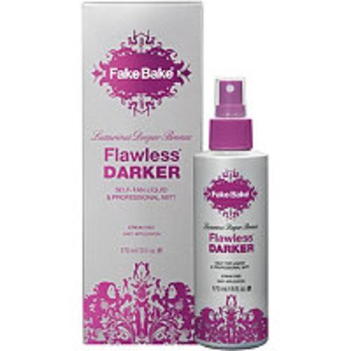 Flawless Darker Self-Tan Liquid & Professional Mitt