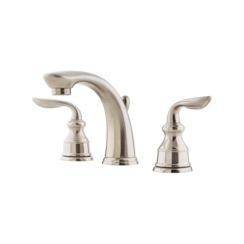 Pfister Avalon Widespread Two Handle Lavatory Faucet 8 in. Brushed Nickel(LF049CB0K)