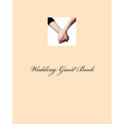 Wedding Guest Book: Two Brides Edition, Large, Pink