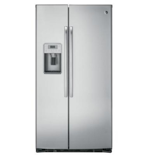 GE Profile 21.9 cu. ft. Side by Side Refrigerator in Stainless Steel, Counter Depth