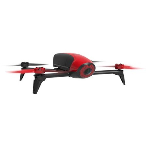 Parrot Bebop 2 Drone with Skycontroller, Red & Black PF726100