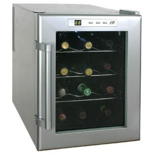 Sunpentown 12 Bottle Wine Single Zone Thermoelectric Wine Refrigerator