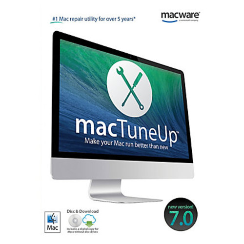 MacTuneUp 7.0, For Mac, Traditional Disc