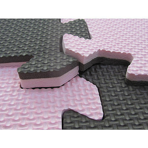 Tadpoles 4-Piece Playmat Set - Pink/Brown