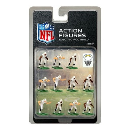 San Diego Chargers White Uniform NFL Action Figure Set