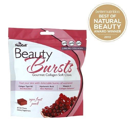 NeoCell Beauty Burst Collagen Soft Chews, Fruit Punch