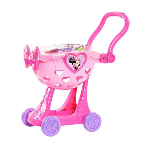 Disney Minnie Bow-Tique 2-in-1 Shopping Cart - Pink/Purple
