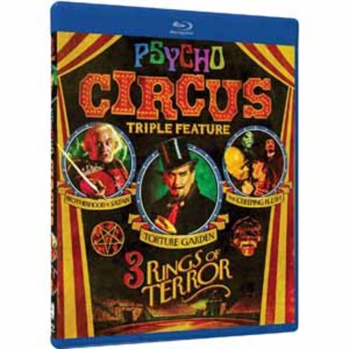 Psycho Circus: 3 Rings of Terror Triple Feature (Blu-ray)