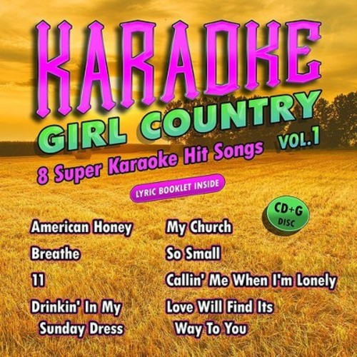 Karaoke Cloud - Girl Country Vol. 1
