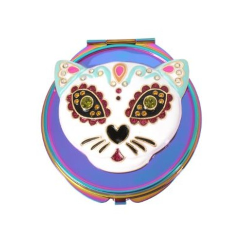 Colorful Cat Compact Mirror
