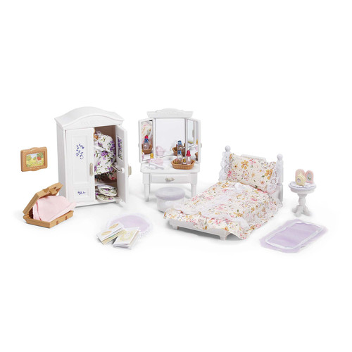 Calico Critters Girl's Lavender Bedroom