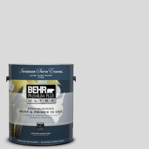 BEHR Premium Plus Ultra 1-gal. #790E-1 Subtle Touch Satin Enamel Interior Paint