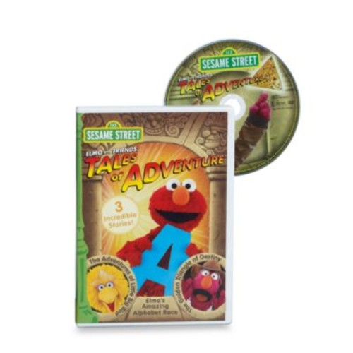 Sesame Street Elmo & Friends Tales of Adventure DVD