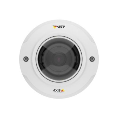 AXIS M3045-V Wired Outdoor Fixed Mini Dome Network Camera, 2.8 mm Focal Length, White