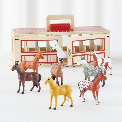 Melissa and Doug Show Horse Play Stable
