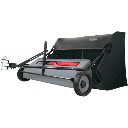 Ohio Steel Lawn Sweeper  42in.W, 22 Cu. Ft., Model# 42SWP22
