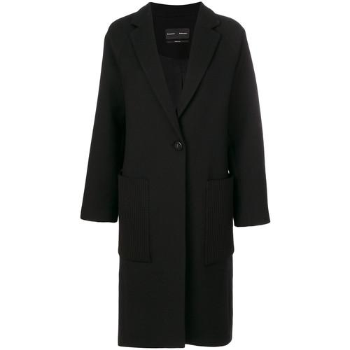 PROENZA SCHOULER Oversized Single-Breasted Coat