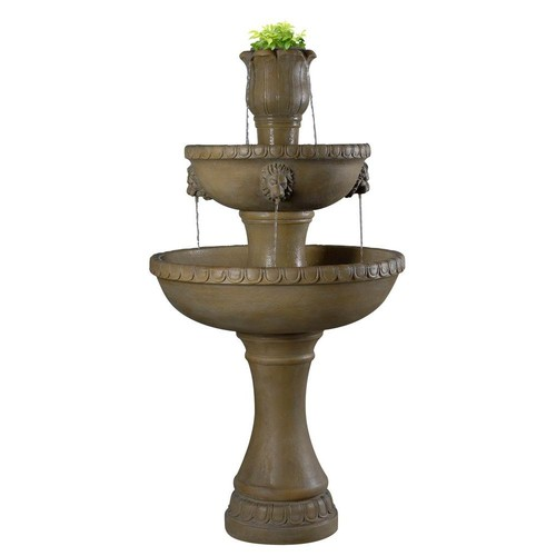 Kenroy Home Lyon Outdoor Floor Fountain